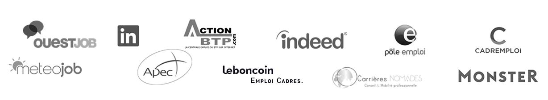 Logos des partenaires ACCRH